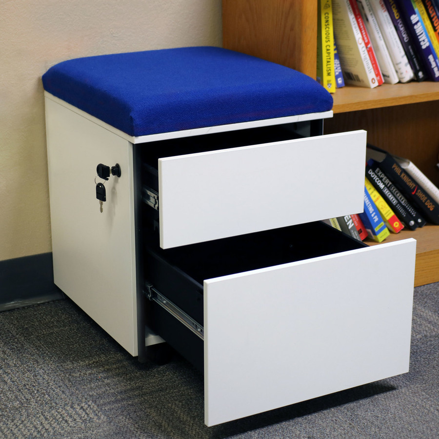 Blue Both Drawers Open