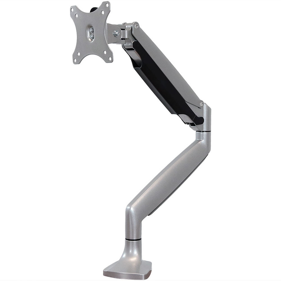 CASL Brands Full-Motion Single Monitor Desk Mount with Gas Spring Arm