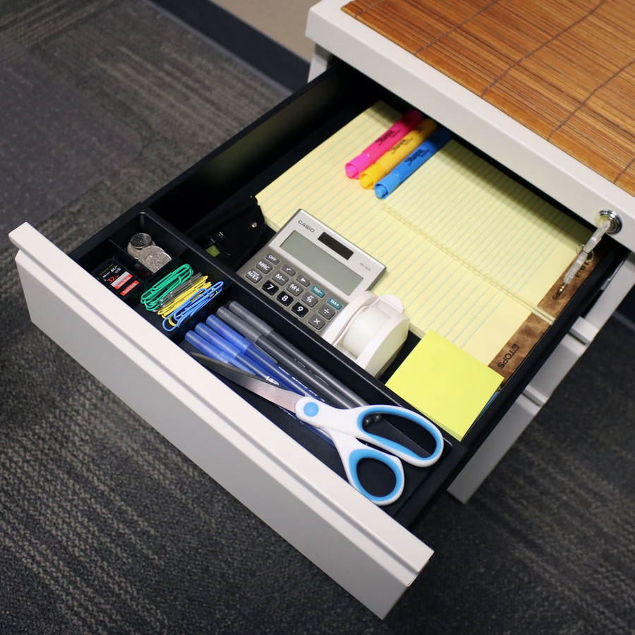 Top Drawer with Office Supplies
