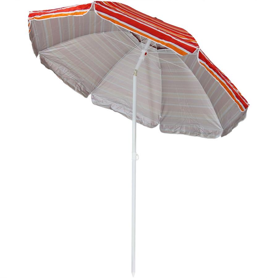 Malibu Dream Beach Umbrella Tilted