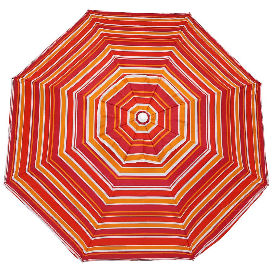 Malibu Dream Beach Umbrella Top View