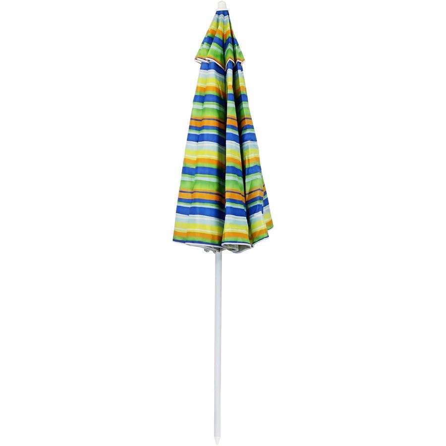 Tropical Fusion Beach Umbrella Closed