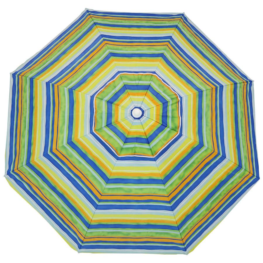 Tropical Fusion Beach Umbrella Top View