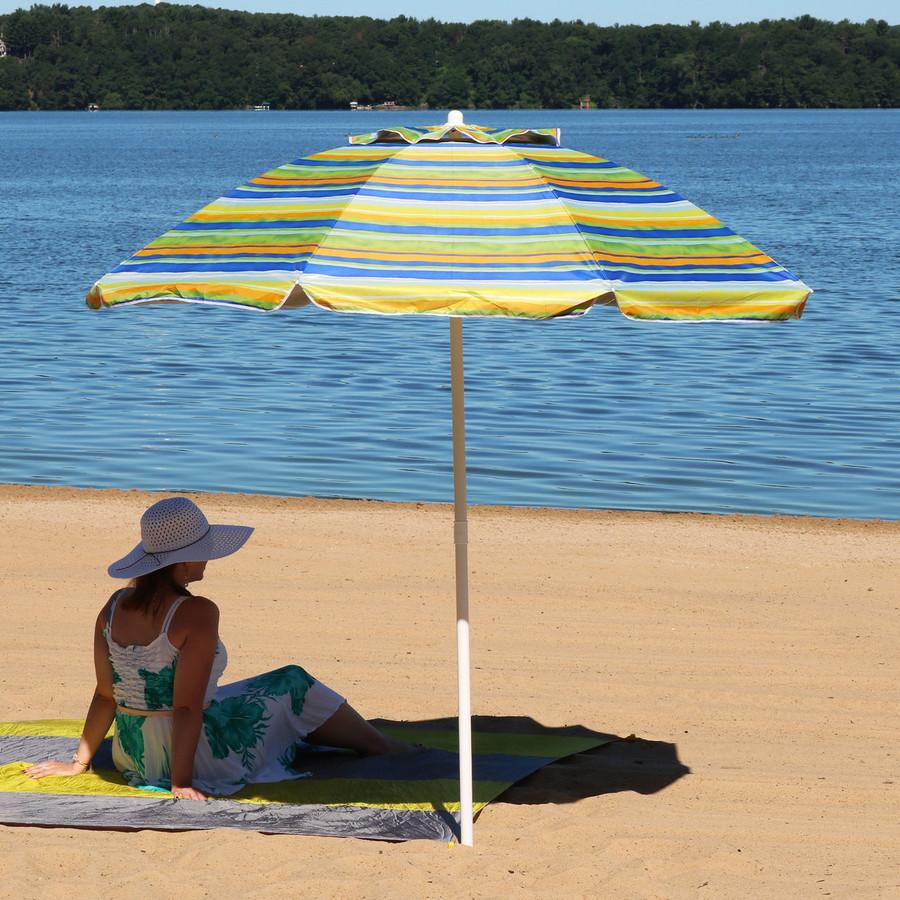 Tropical Fusion Beach Umbrella