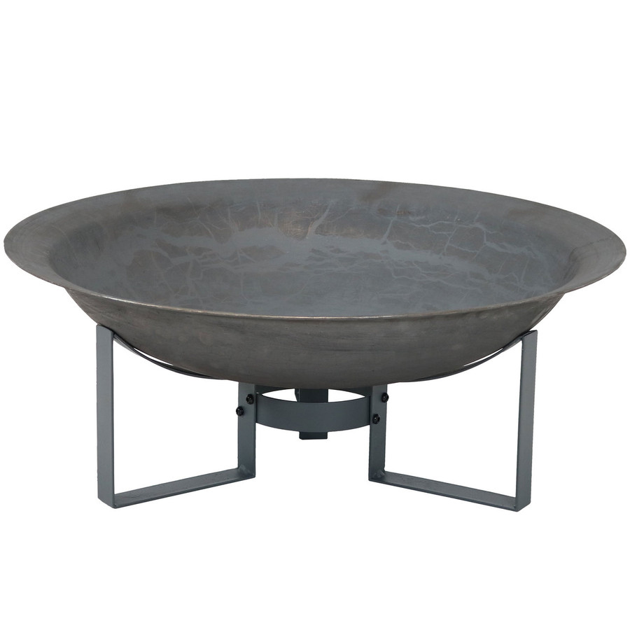 Modern Cast Iron Fire Pit Bowl with Stand