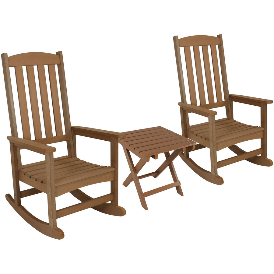 Brown Set of 2 with Side Table