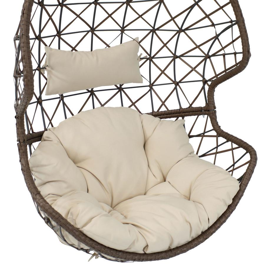 Beige Cushion Closeup