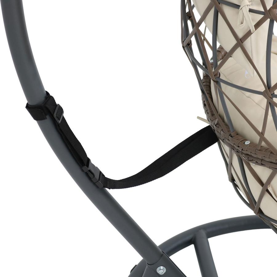 Beige Closeup of Stand Strap