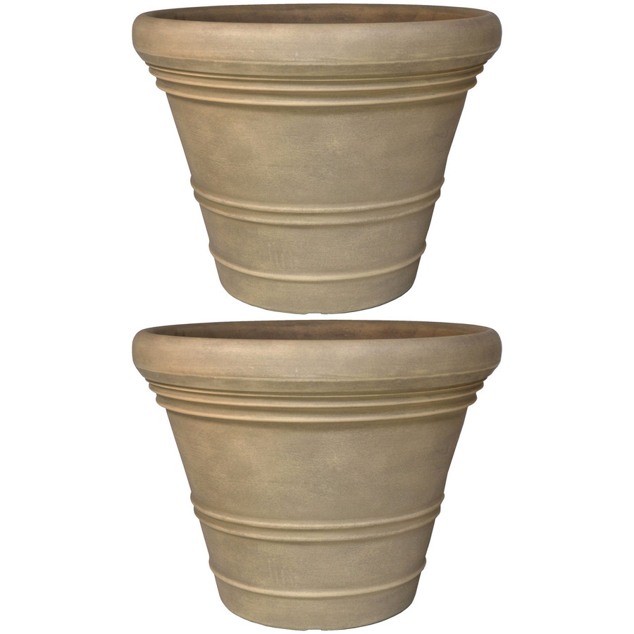 Prescott Indoor/Outdoor Planter, Set of 2