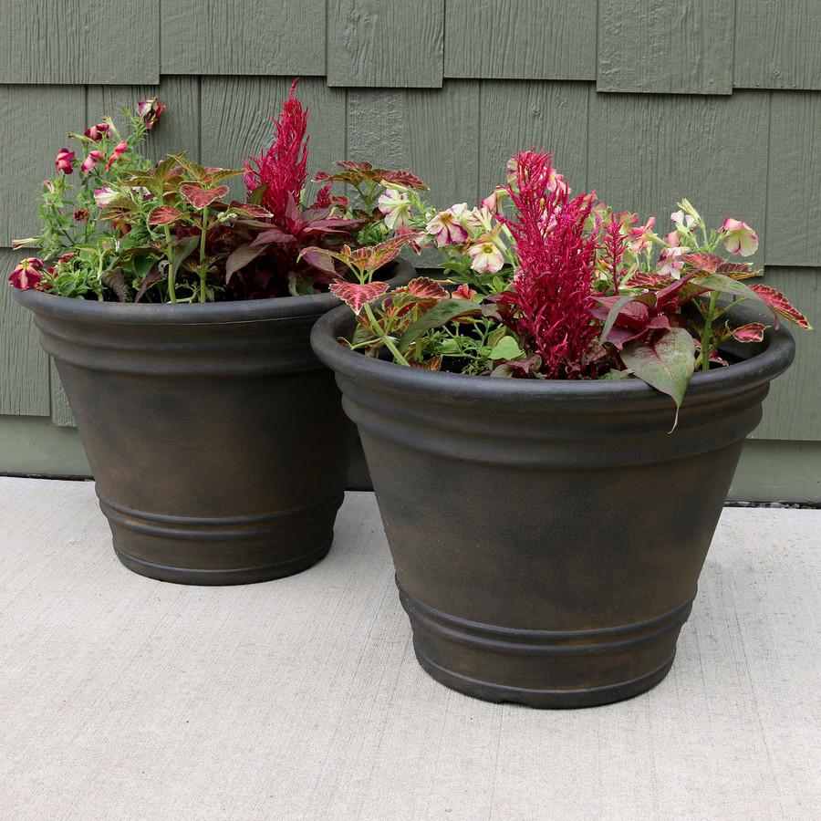 Franklin Indoor/Outdoor Planter, Set of 2
