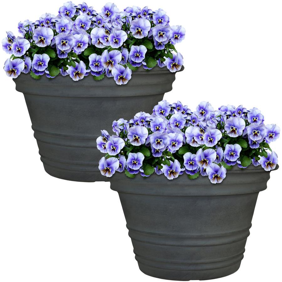 Victoria Indoor/Outdoor Planter, Set of 2