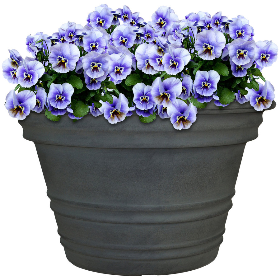 Sunnydaze Victoria Indoor/Outdoor Planter Pot, Vintage Finish, 16-Inch Diameter