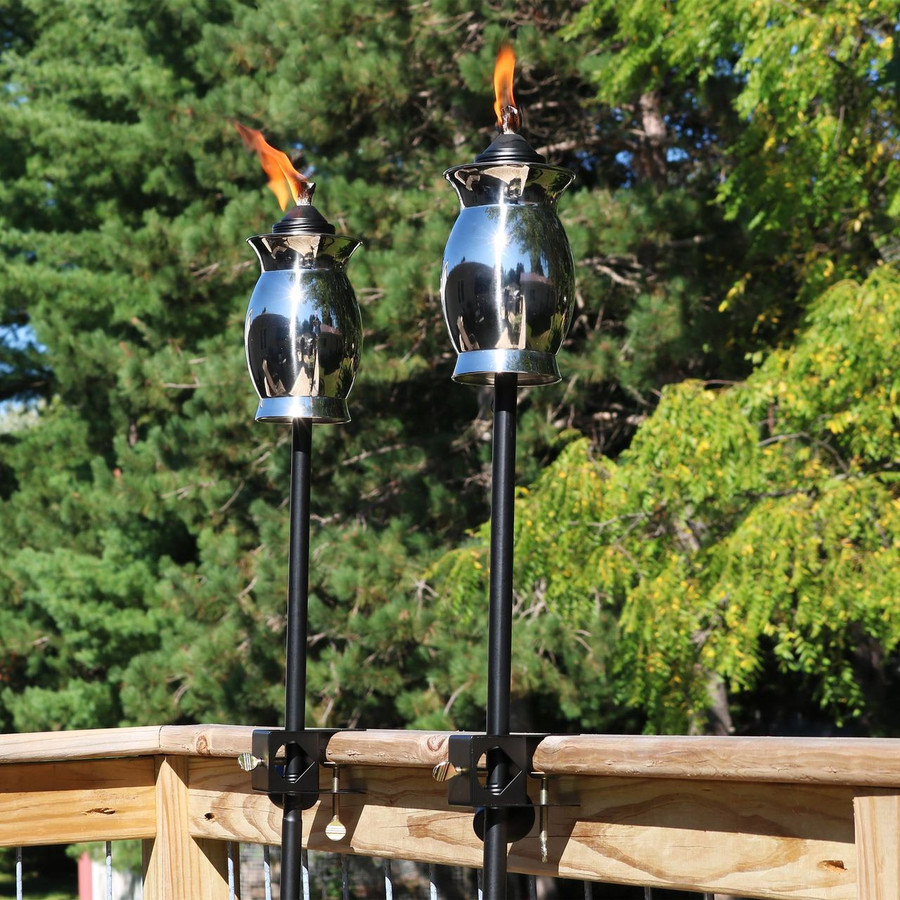 Deck-Mounted Torches