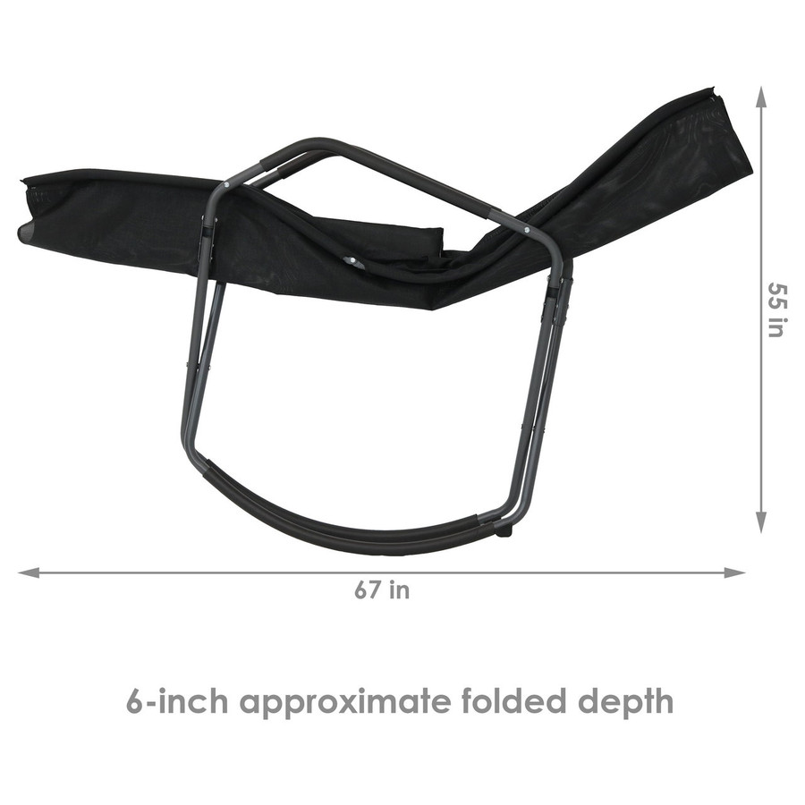 Overall  Folded Chair Dimensions