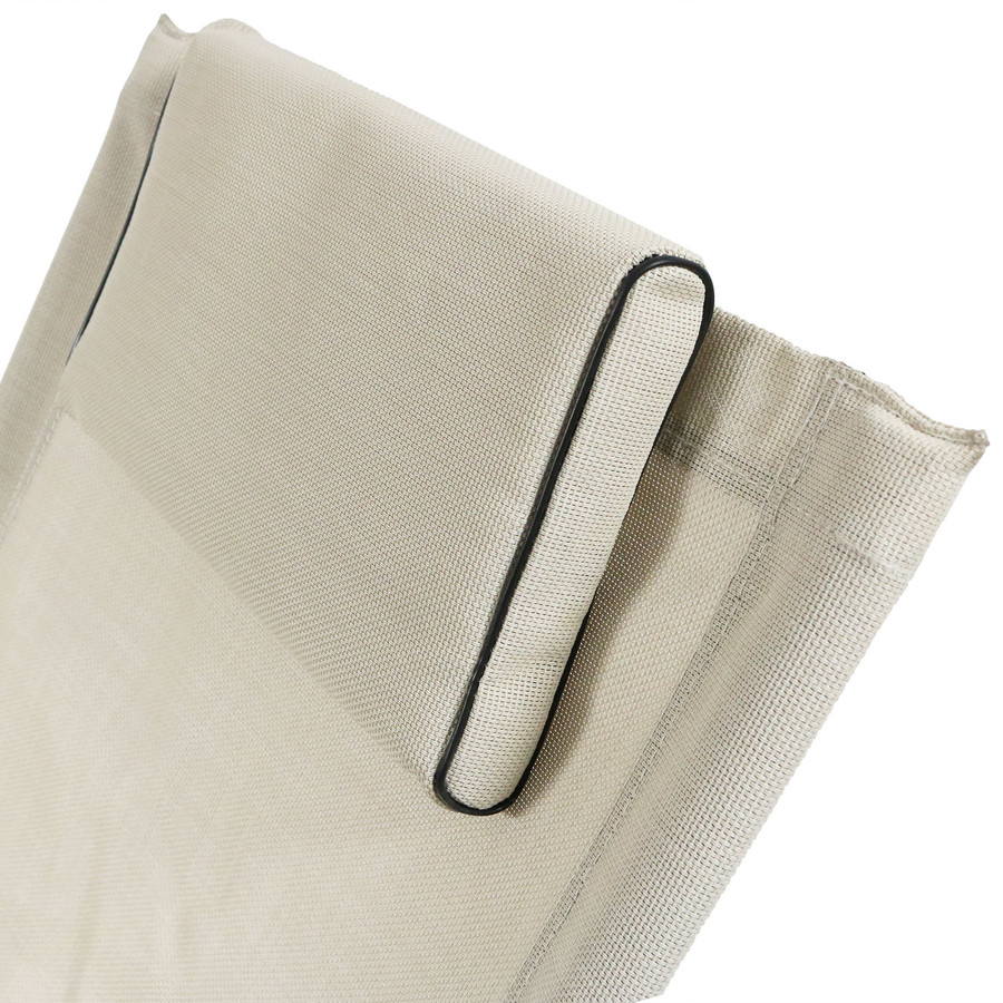 Beige Pillow Closeup