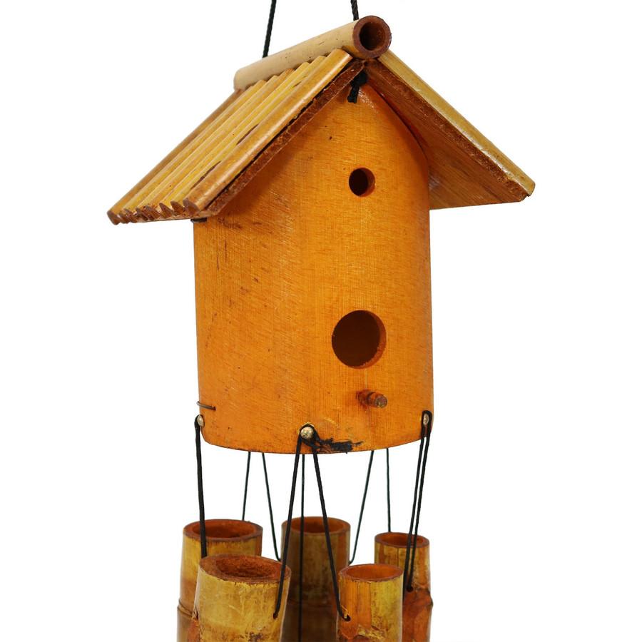 Closeup of Decorative Bird House