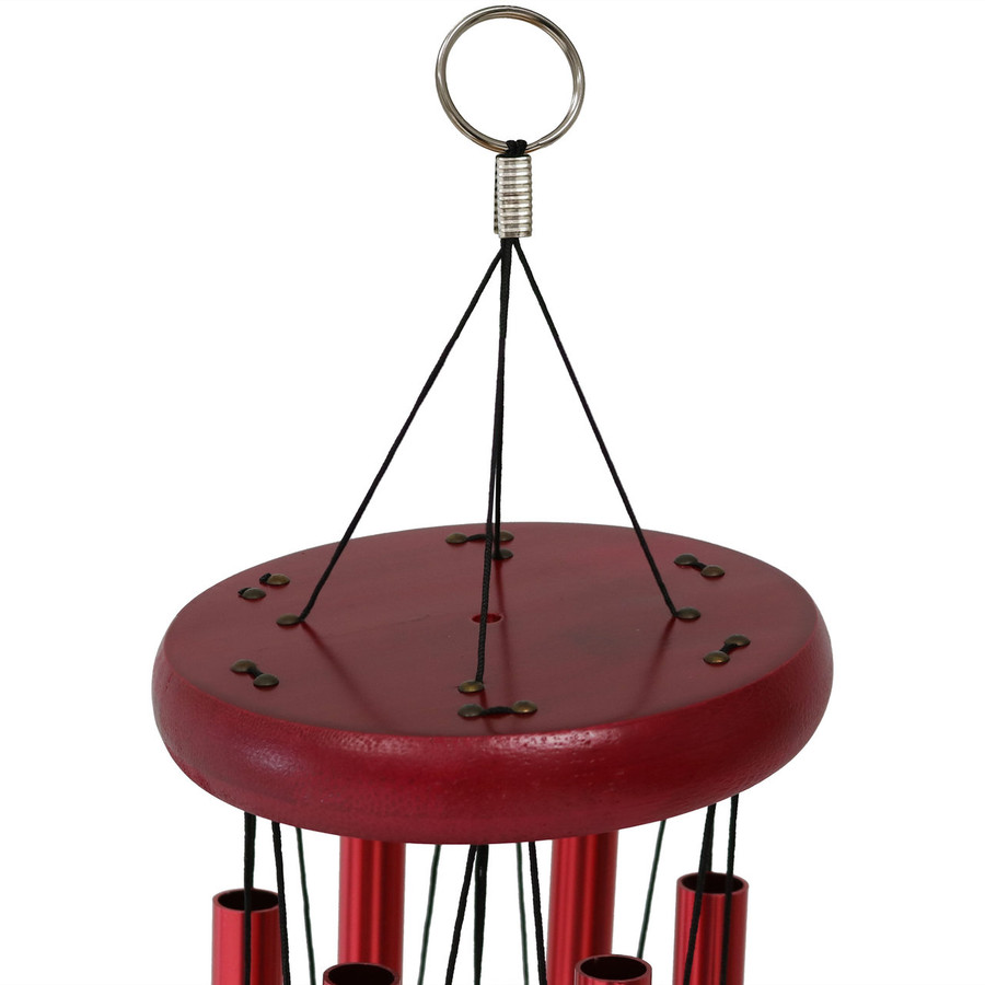 Closeup of Suspension Platform on Wind Chime