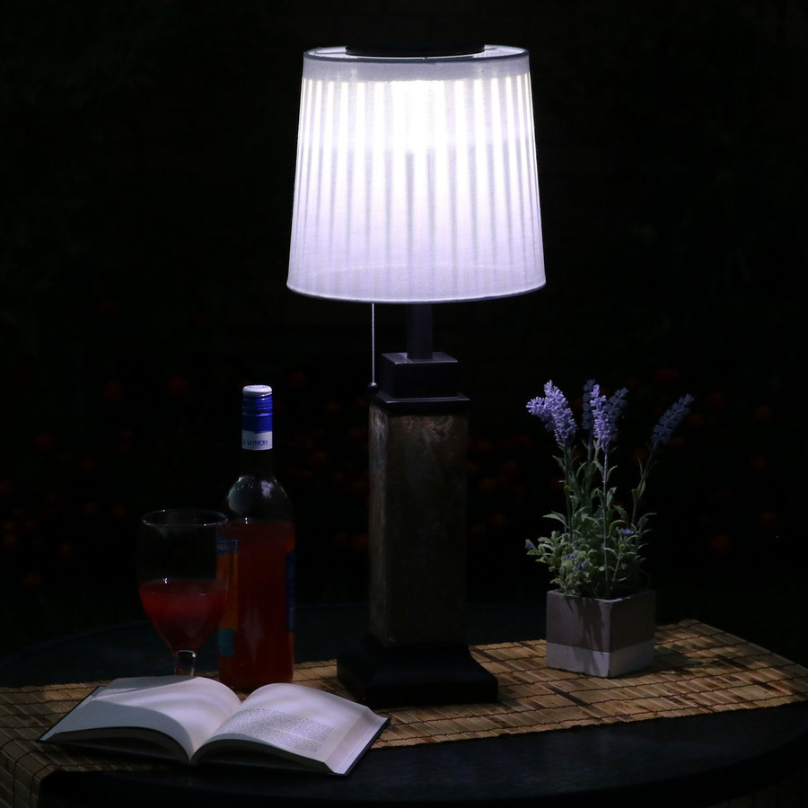 Nighttime View of Lamp