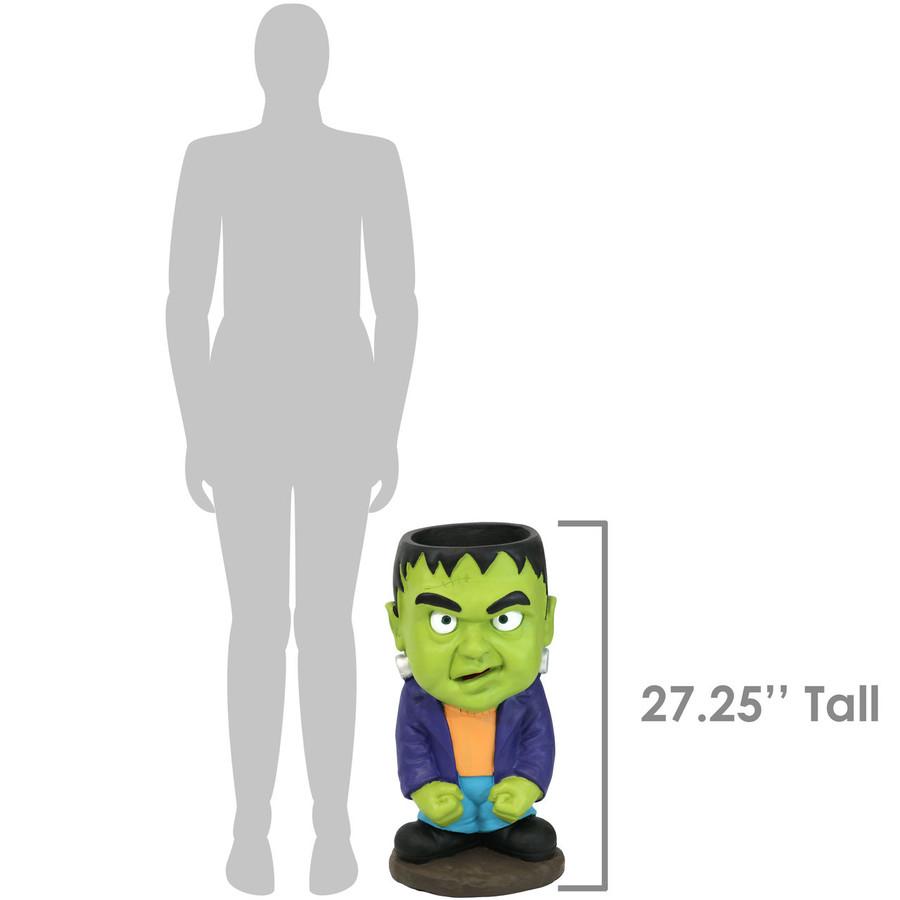 Height of Frankenstein Statue