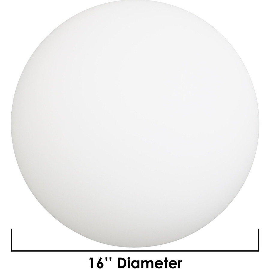 Dimensions of 16-Inch Ball