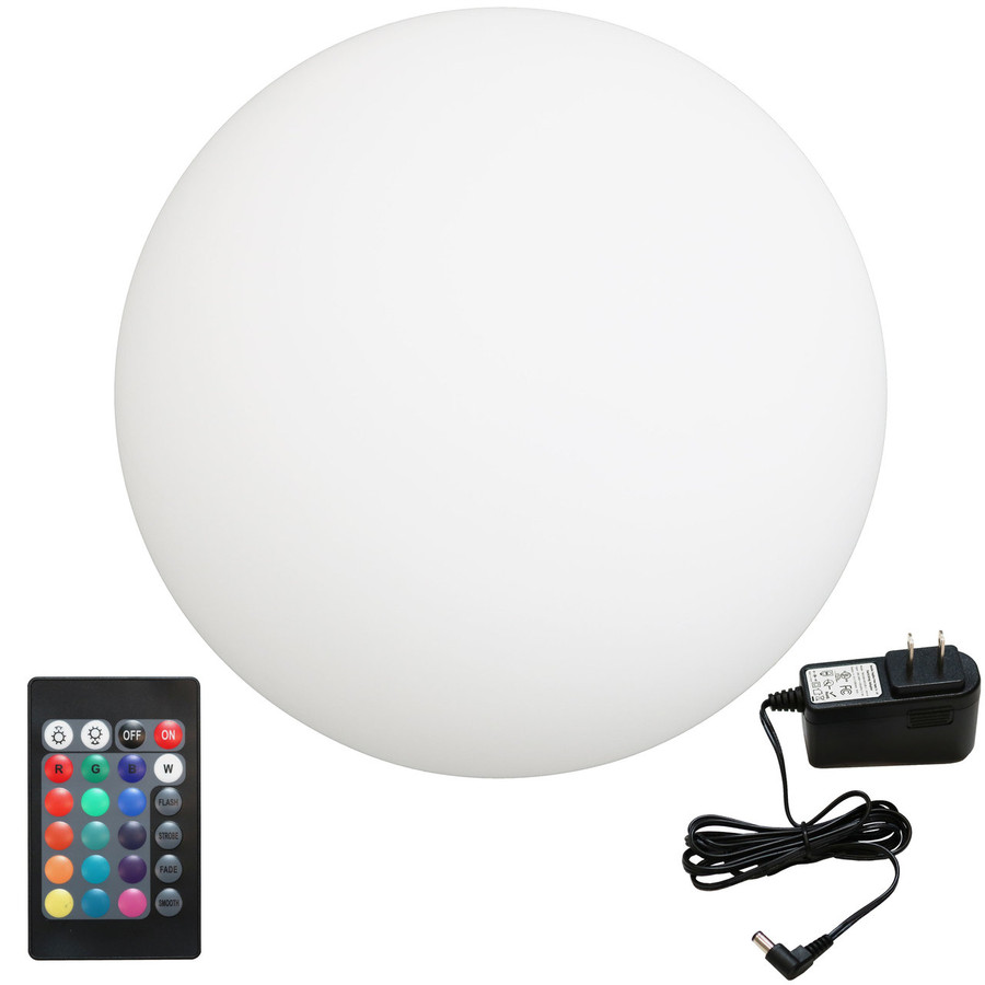 LED Light Ball with Remote Control and Charger