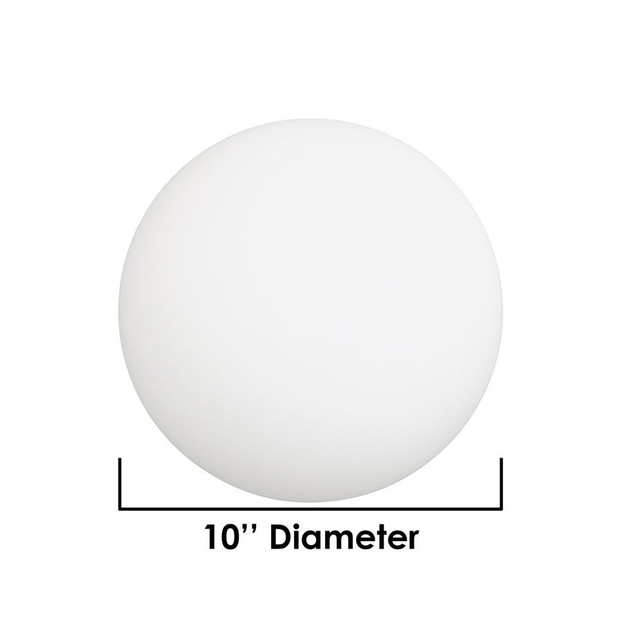 Dimensions of 10-Inch Ball