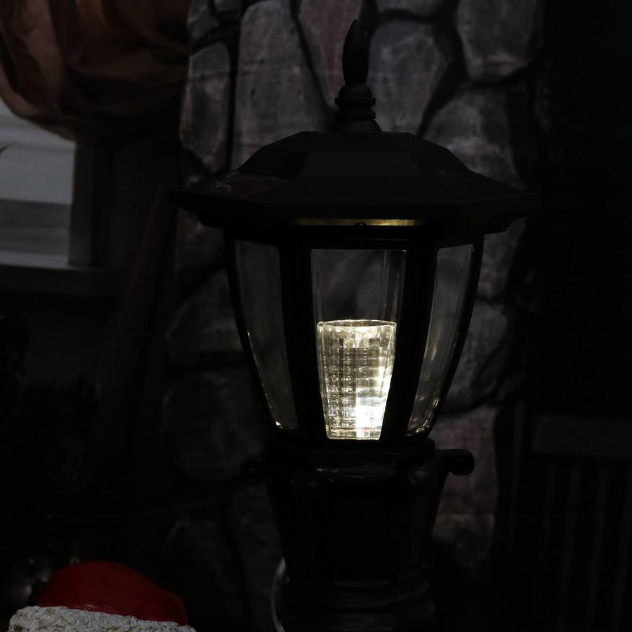 Closeup of Light, Nighttime