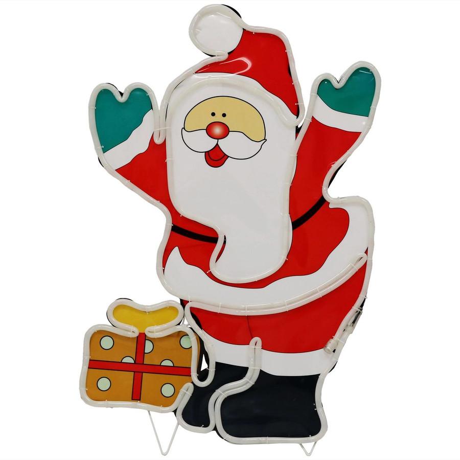 LED Rope Light Santa Claus Decoration Unlit