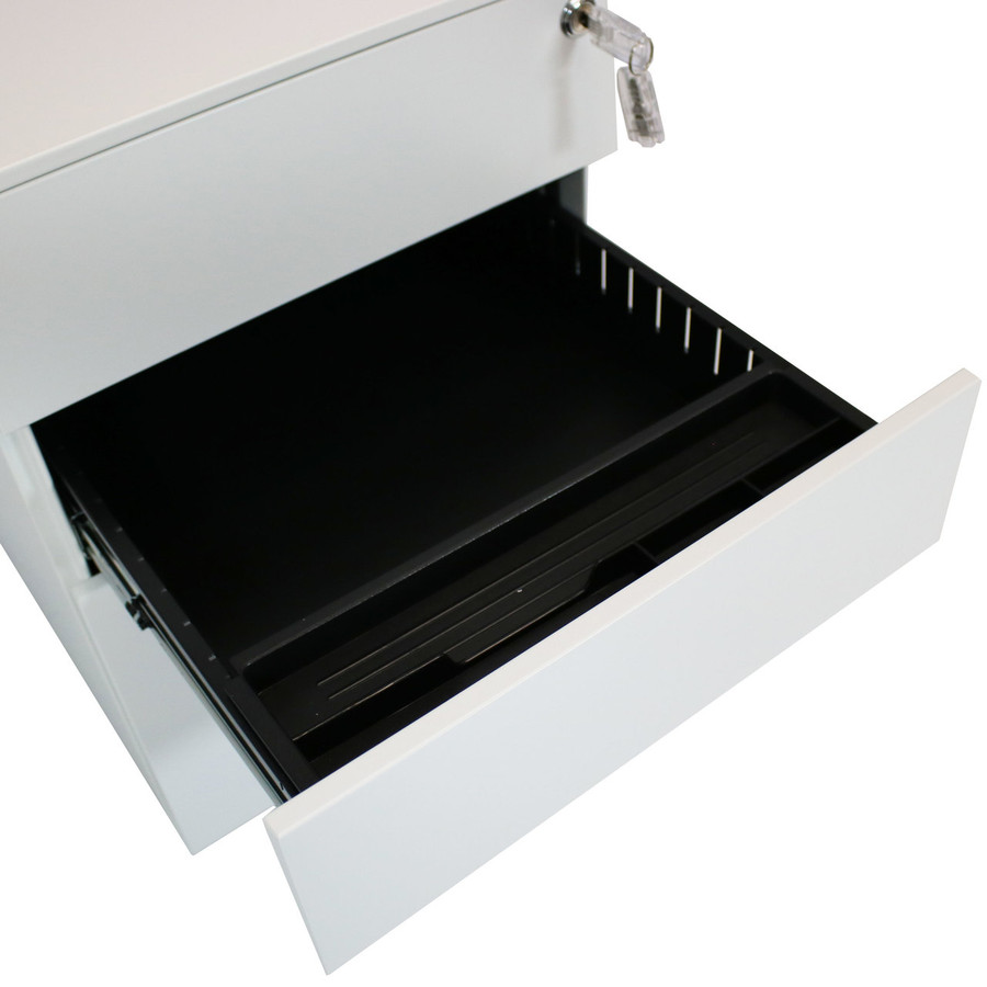 Middle Drawer open with Pencil Tray