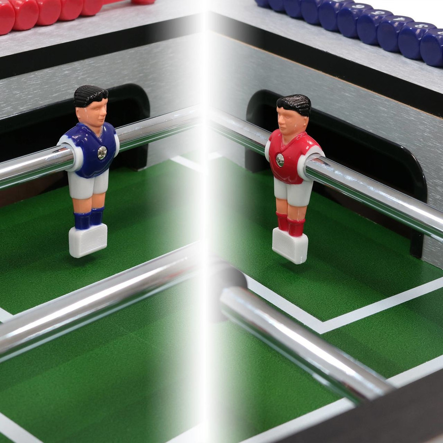 Closeup of Foosball Players