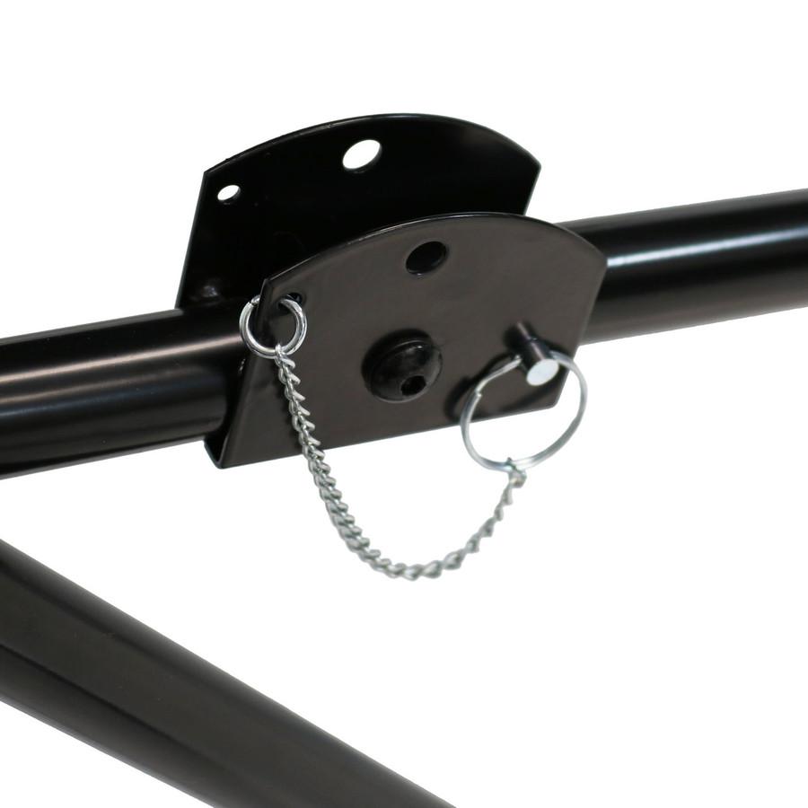 Closeup of Pin Locking Mechanism