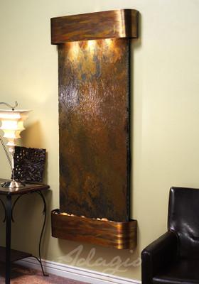 Adagio inspiration falls wall fountain serenity health - Indoor wall water features ...