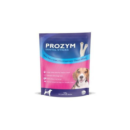 Prozym Dental Sticks Small/Medium Dogs up to 20kg 12 Pack