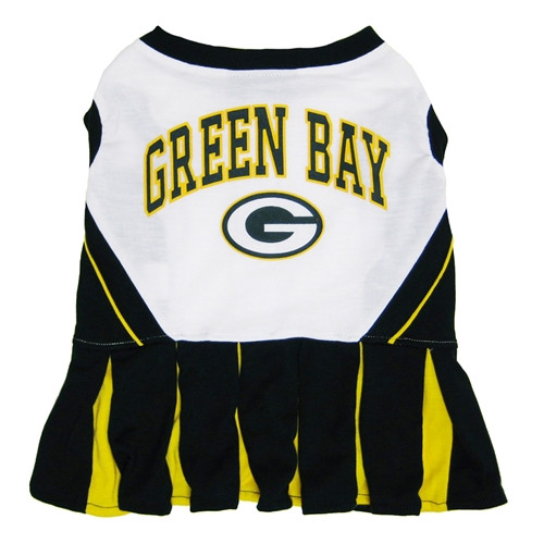 Green Bay Packers Officially Licensed NFL Pet Cheerleader Dress