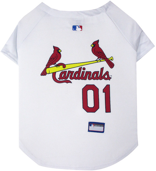 St. Louis Cardinals Officially Licensed Dog Jersey