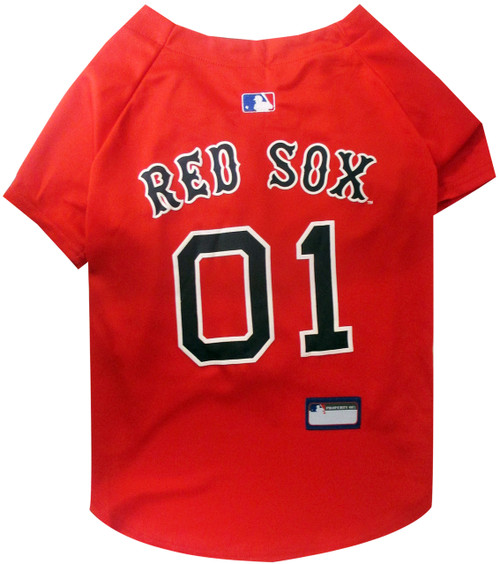 Boston Red Sox Officially Lisenced Pet Jersey