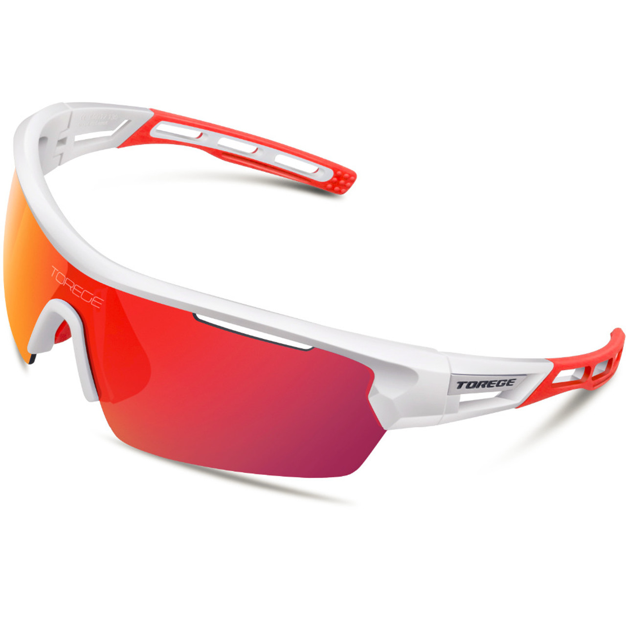 Polarized Sports Sunglasses With 4 Interchangeable Lenes for Men ...