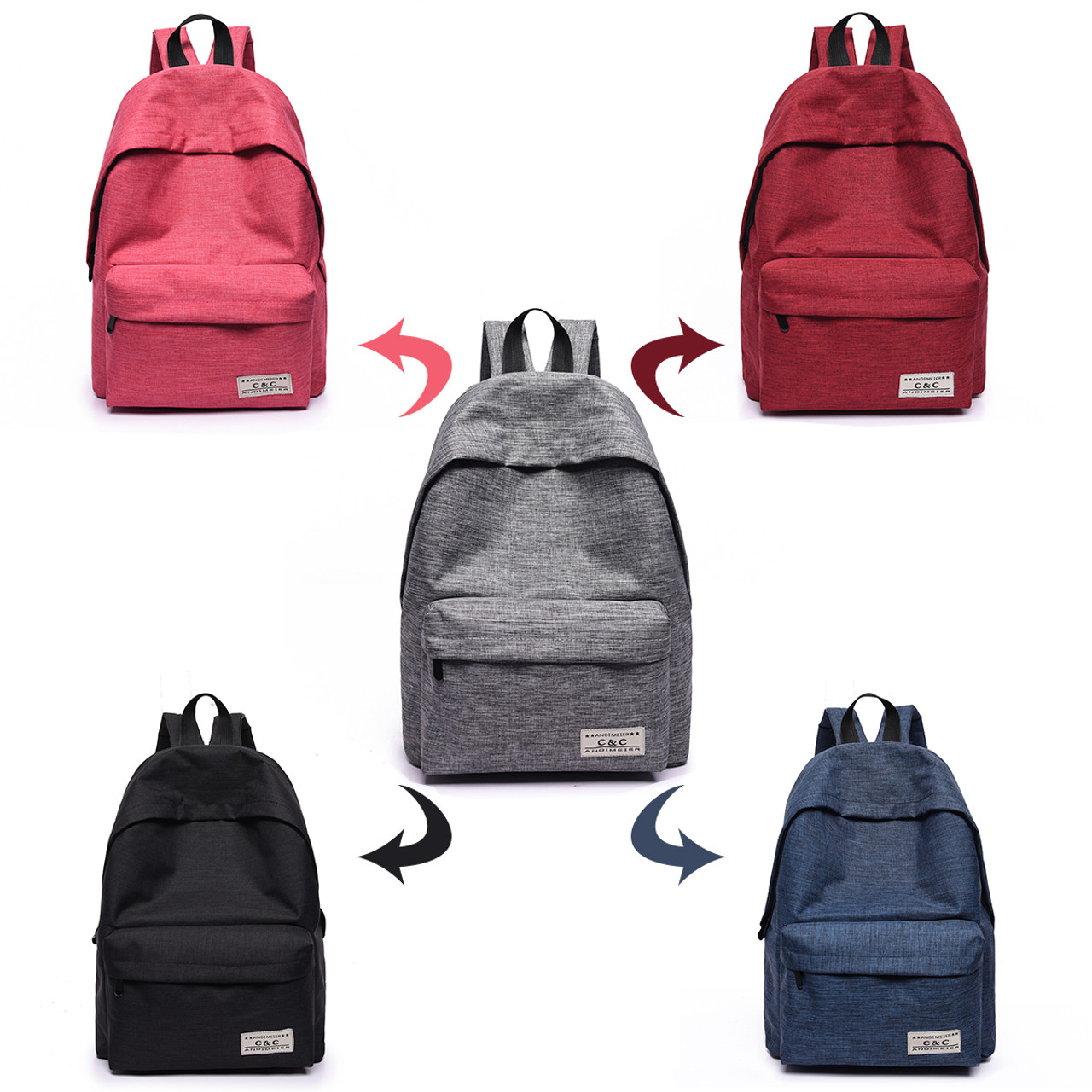 Cute Big Backpacks For School- Fenix Toulouse Handball 62c2f1535bd45