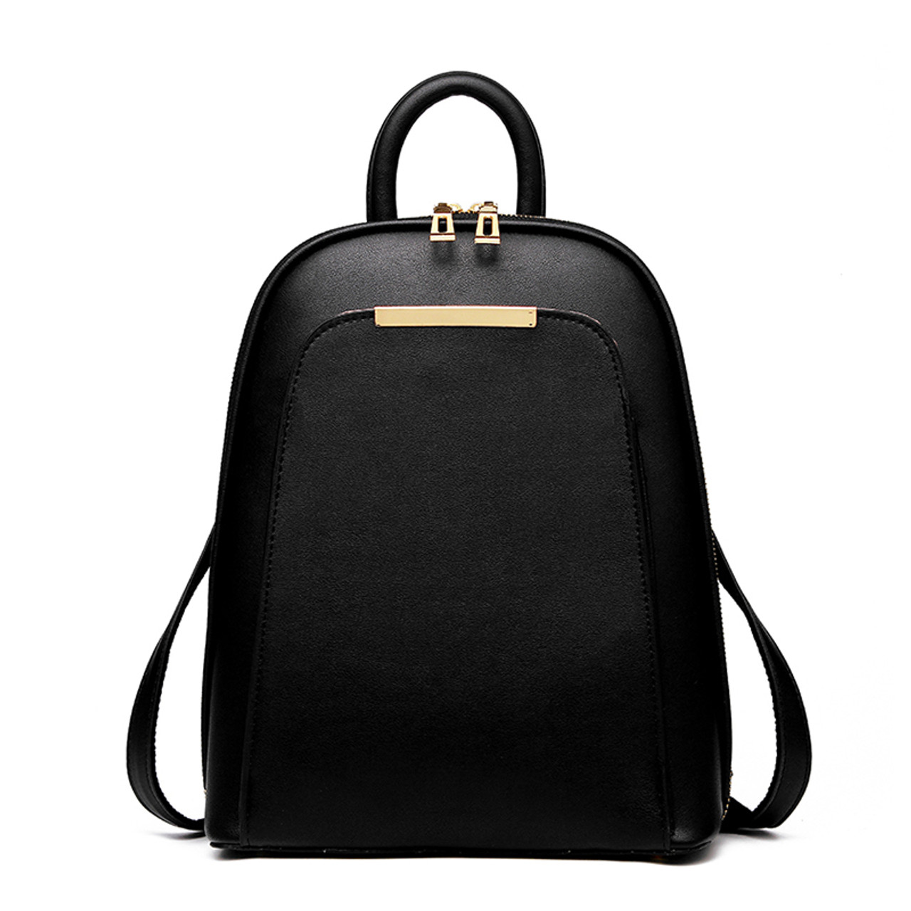 DIZHIGE Brand 2017 Solid High Quality PU Leather Backpack Women ...