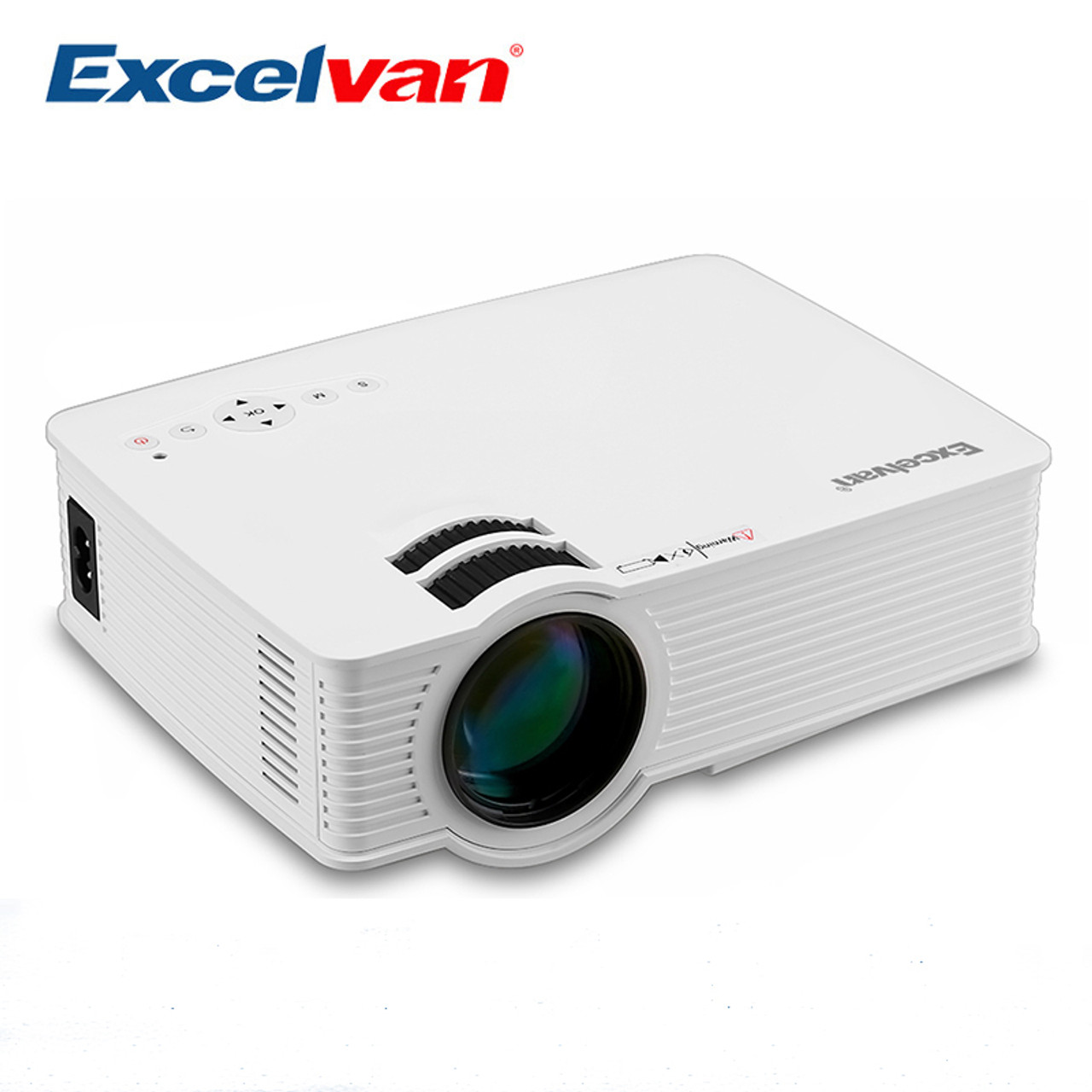 Excelvan gp9 portable mini projector video lcd digital for Small lcd projector reviews
