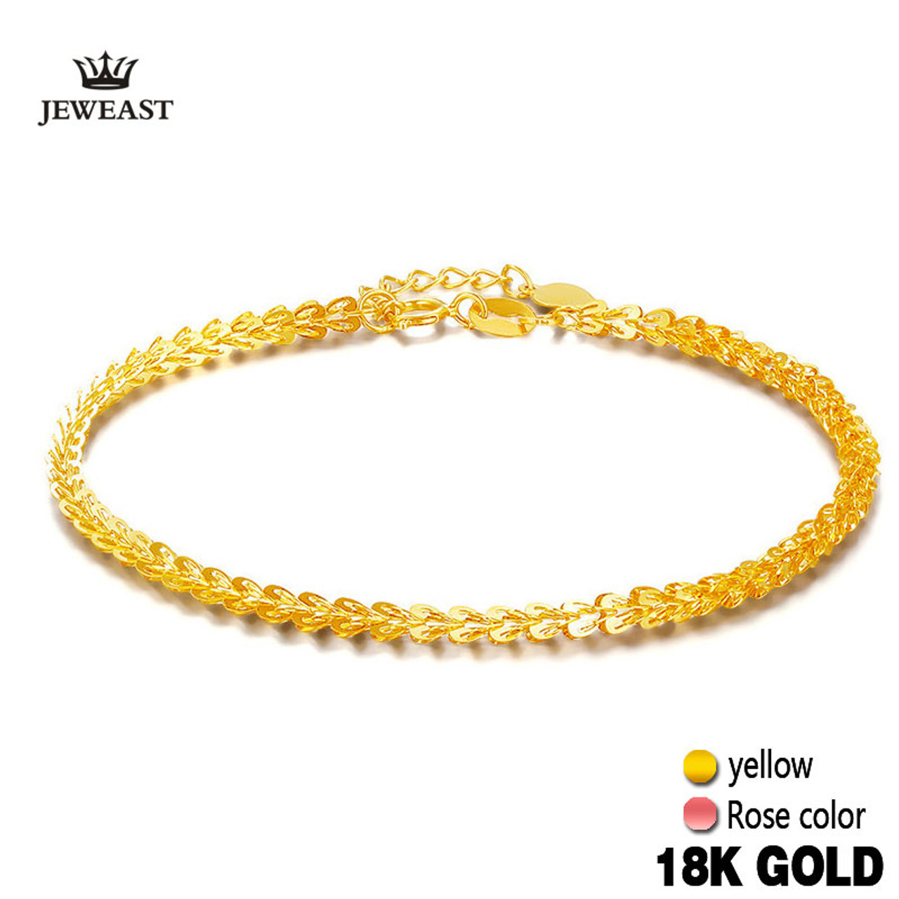 bracelet womens design gold tri women online jewels color pure sun bracelets for just female shop sale