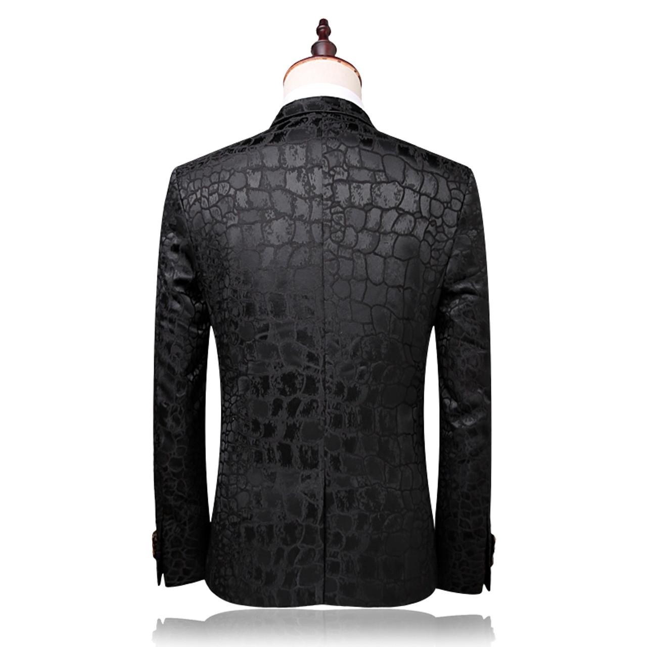 plyesxale brand suit men 2018 autumn slim fit wedding