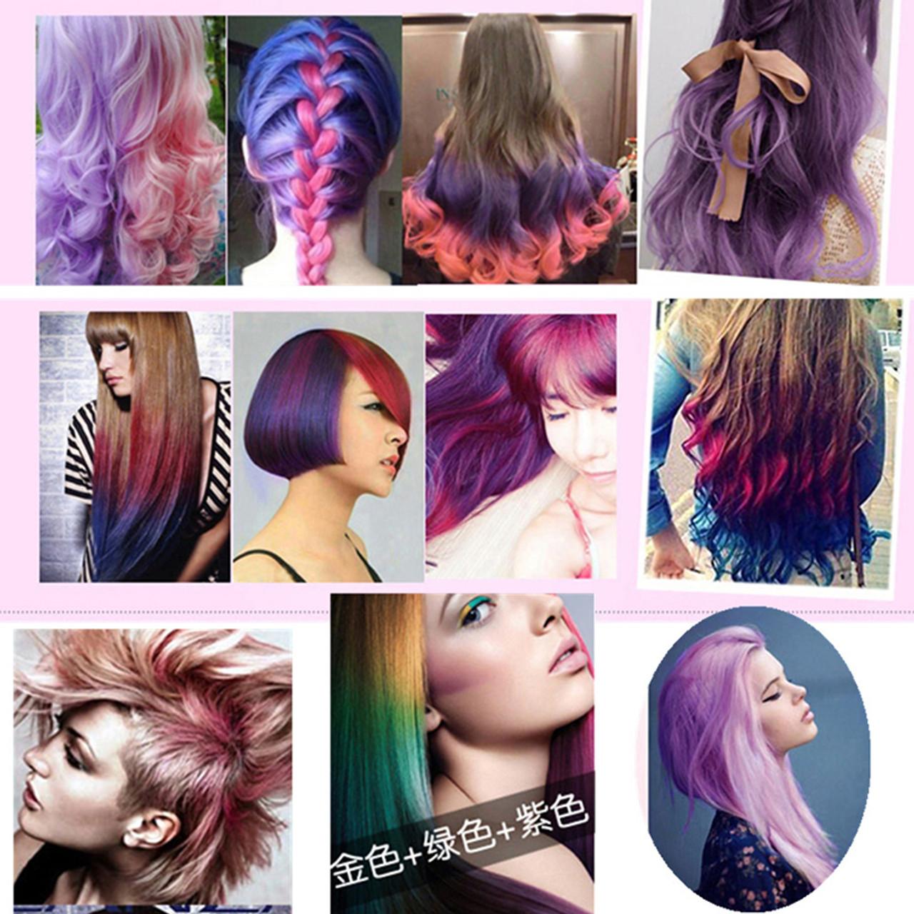 One Time Temporary Color Hair Dye Pomade Hair Wax Natural Hair Style