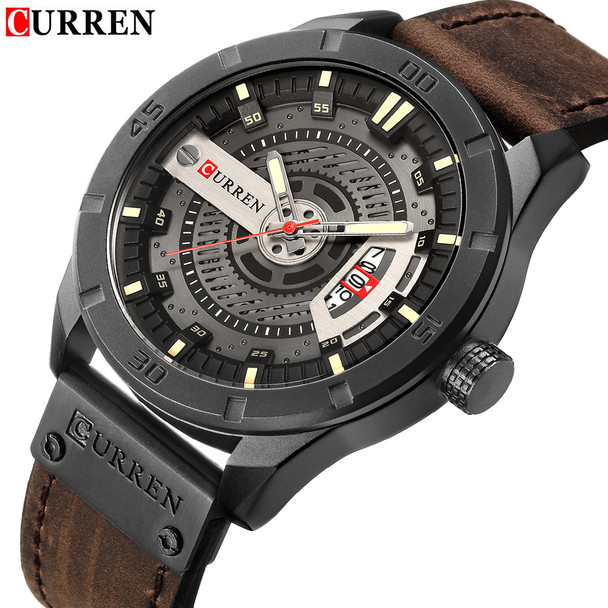 quartz my strap north man home brand cheap sport s watches men watch leather