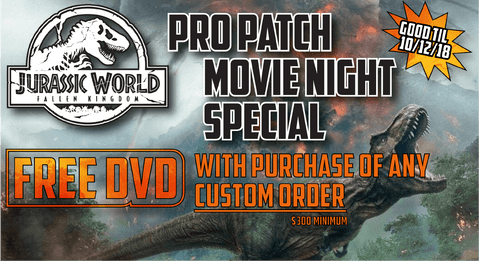 Pro Patch Movie Night Special - Jurassic World: Fallen Kingdom