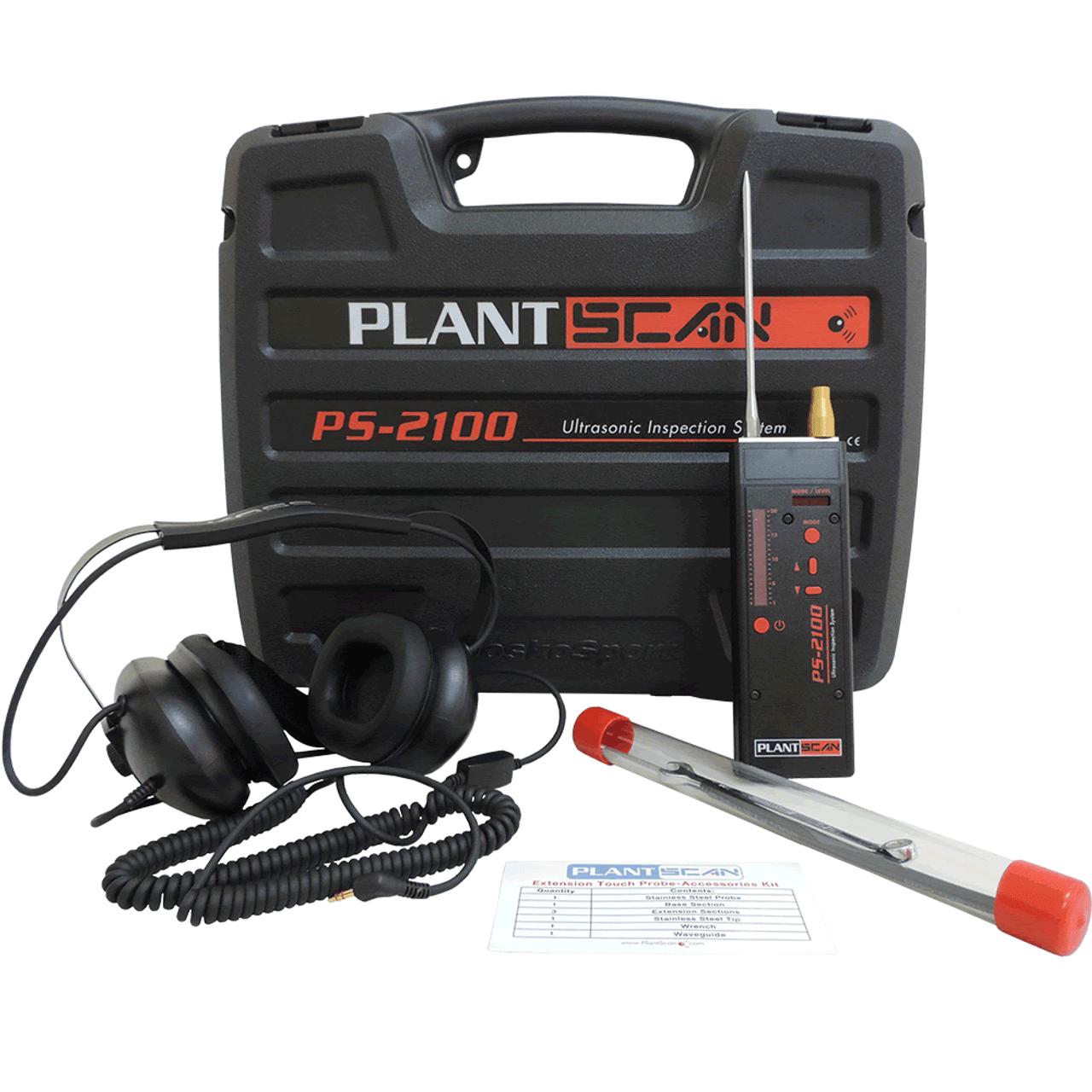 PS 2100 Kit - Ultrasonic Leak Detector & Condition Monitor