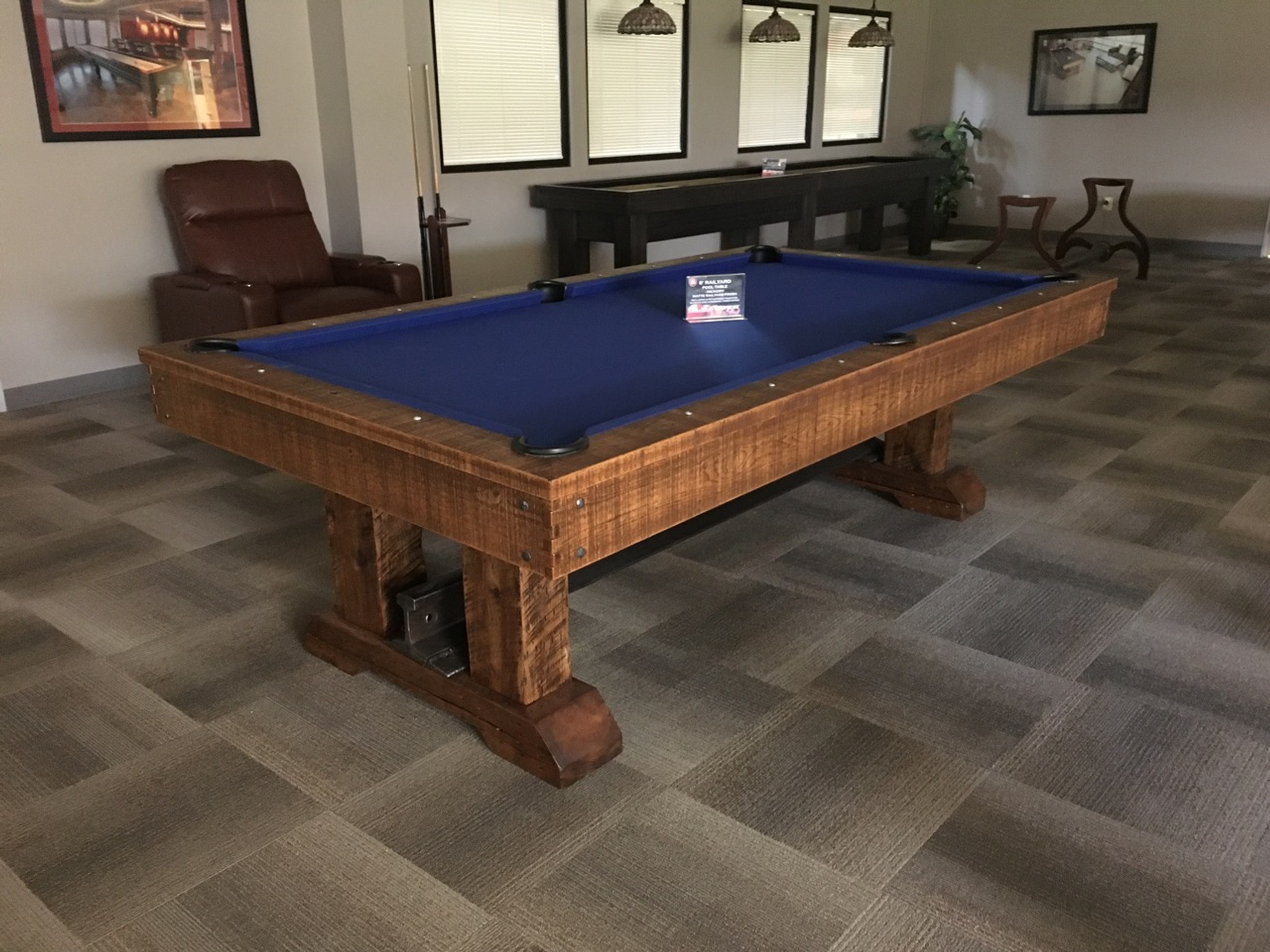 Rail Yard Pool Table (with Olhausen Billiards Company)