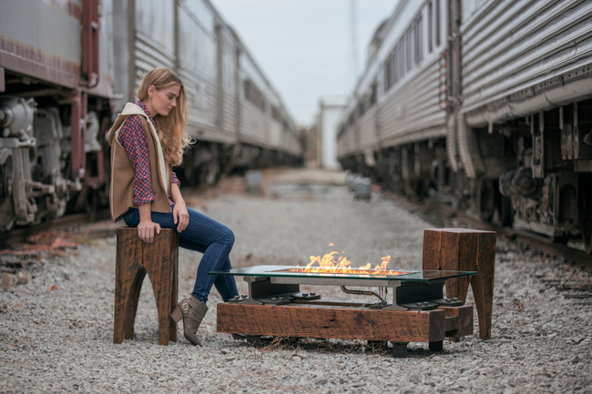 Sound-Reactive Fire Pits from Rail Yard Studios
