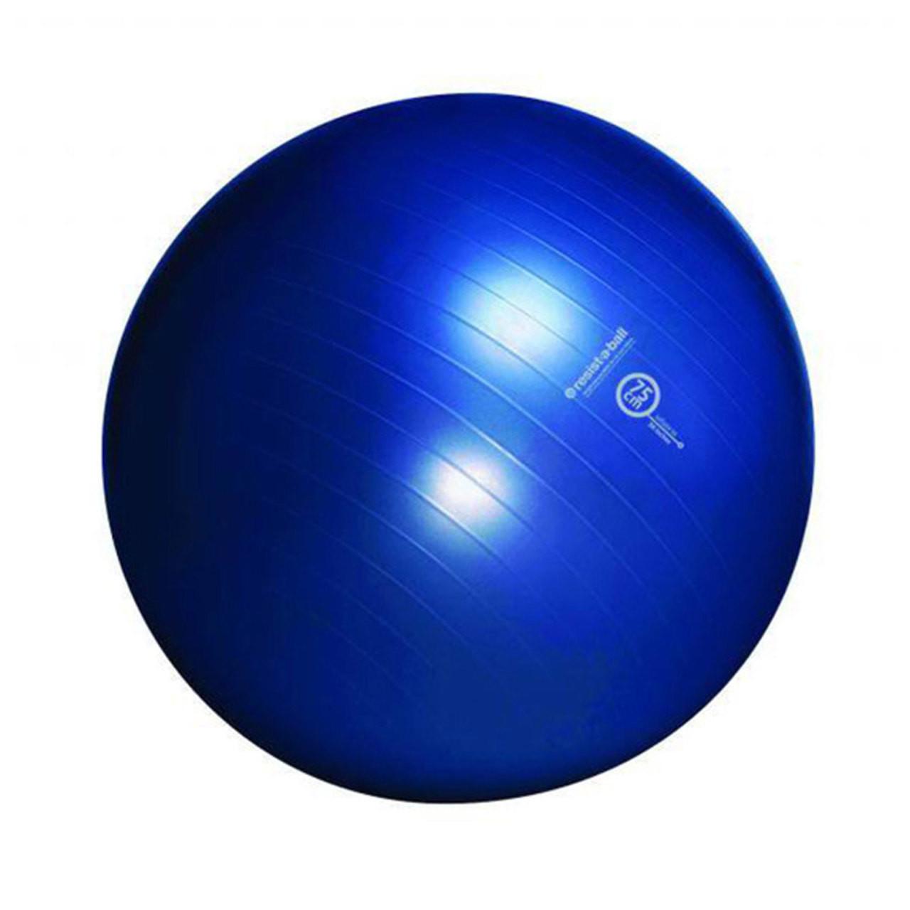 Balance Ball Blue: Resist-A-Ball® Exercise Kit 75cm Blue