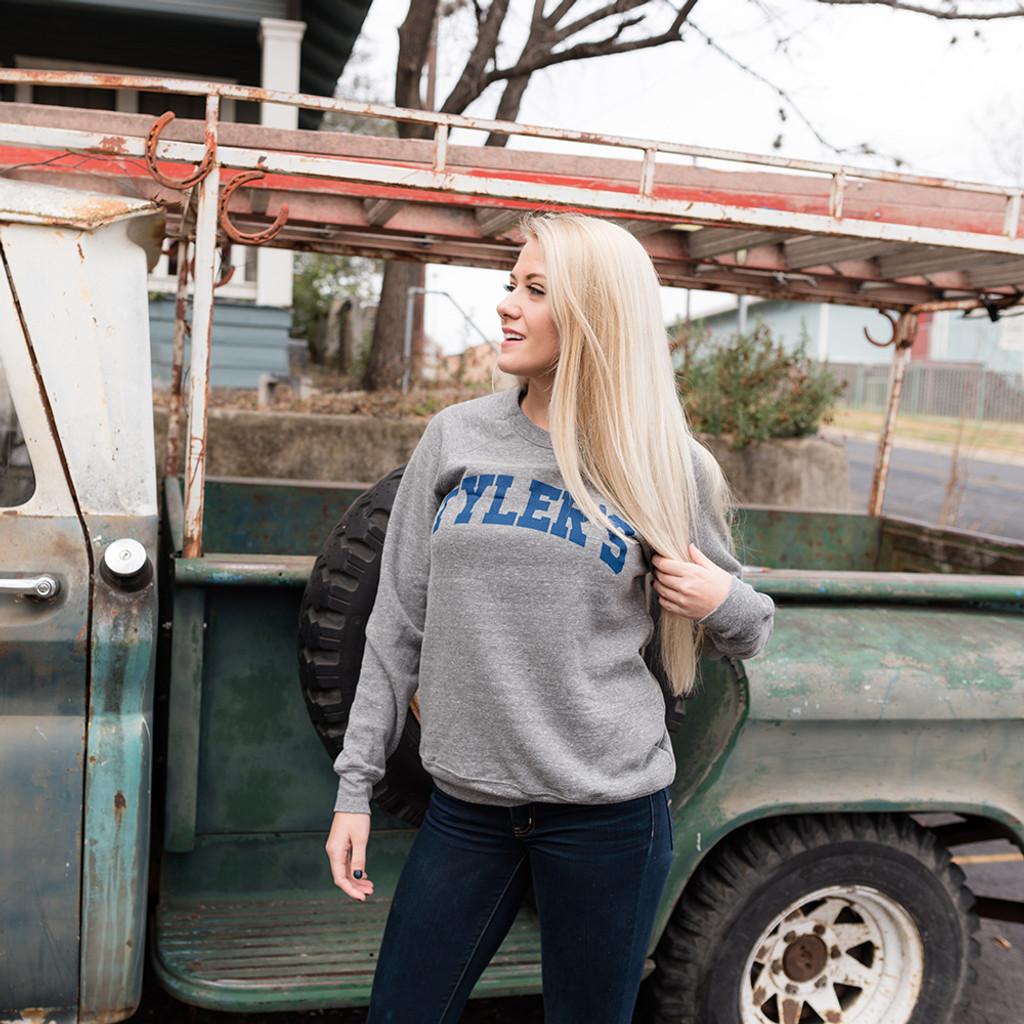 TYLER'S Grey Crew Neck Sweatshirt